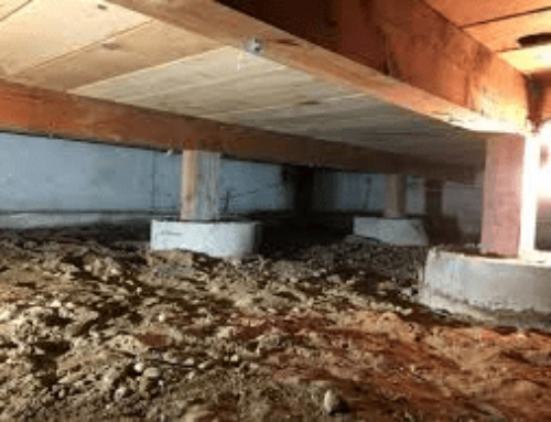 You have 4 Major Problems with the crawl space under your home!